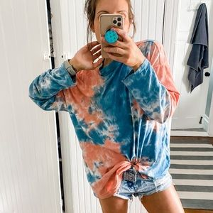 Free People Be Free Cotton Candy Tie Dye